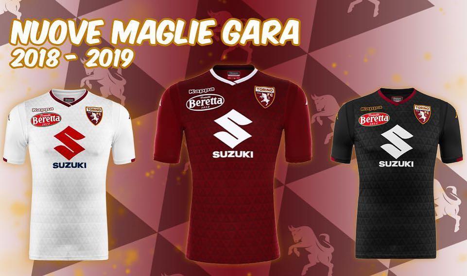 f2ca7546b5f4e Torino FC 2018 19 Kappa Home and Away Kits - FOOTBALL FASHION.ORG
