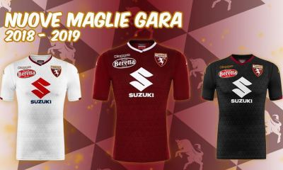 Torino FC 2018 2019 Kappa Home and Away Football Kit, Soccer Jersey, Shirt, Gara, Maglia