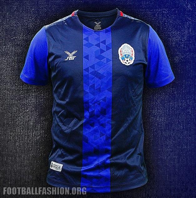 765d7c1c5 Cambodia 2018 2019 FBT Home Football Kit, Soccer Jersey, Shirt