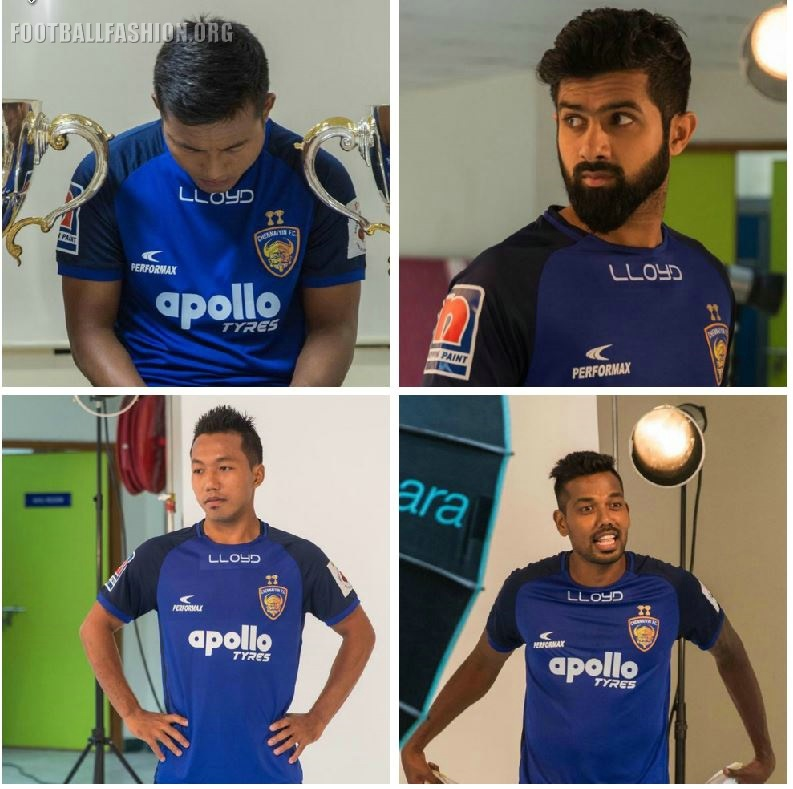 65d4058bfe2 Chennaiyin FC 2018 2019 Home Football Kit, Soccer Jersey, Shirt