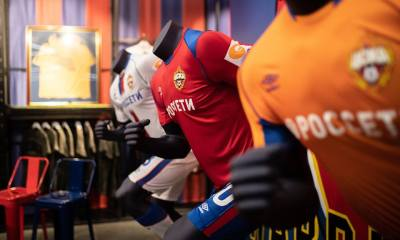 CSKA Moscow 2018 2019 Umbro Home, Away and Third Football Kit, Soccer Jersey, Shirt