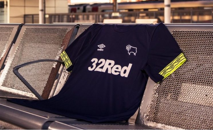 6b1abe6e1df Derby County FC 2018 19 Umbro Away and Third Kits - FOOTBALL FASHION.ORG