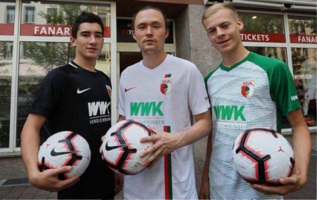 FC Augsburg 2018 2019 Nike Home and Away Football Kit, Soccer Jersey, Shirt, Trikot