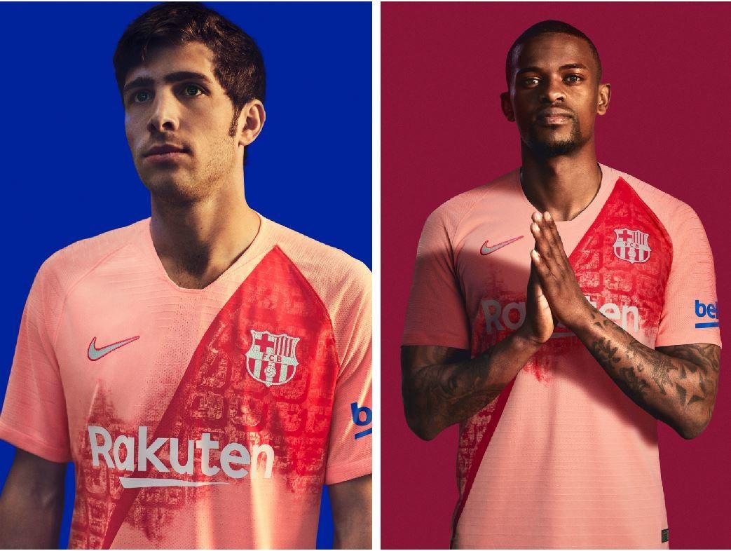 b776241701 FC Barcelona 2018 19 Nike Third Kit – FOOTBALL FASHION.ORG