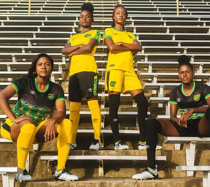 Jamaica 2018 19 Umbro Home And Away Kits Football Fashion Org