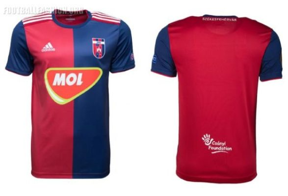 Vidi FC 2018 2019 adidas Home, Away and Third Football Kit, Soccer Jersey, Shirt, Csapatmez