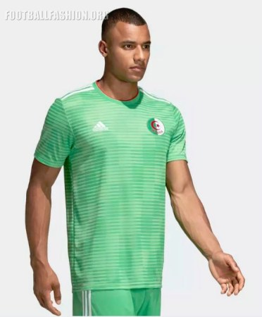 Algeria 2018 2019 adidas Away Football Kit, Soccer Jersey, Shirt, Maillot