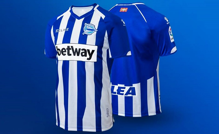 406620869 Deportivo Alavés 2018/19 Kelme Home, Away and Third Kits - FOOTBALL  FASHION.ORG