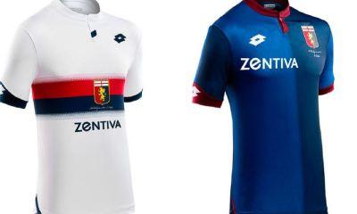 Genoa CFC 2018 2019 Lotto Away and Third Football Kit, Soccer Jersey, Shirt, Maglia, Gara