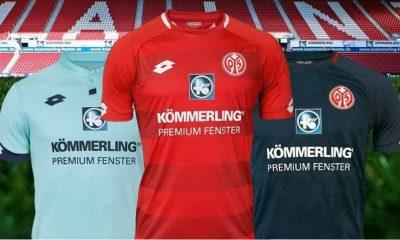 Mainz 05 2018 2019 Lotto Home, Away and Third Football Kit, Soccer Jersey, Shirt, Trikot