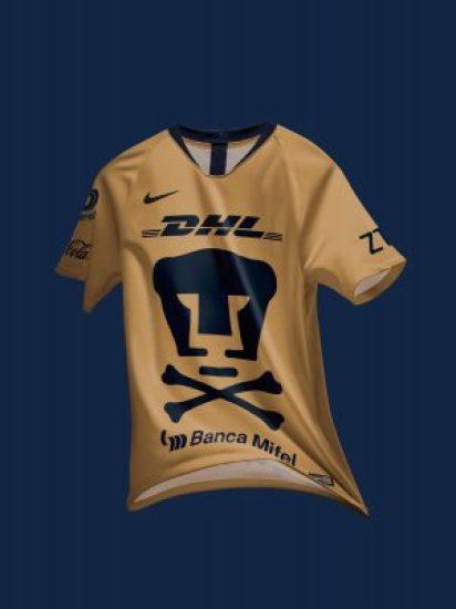 Pumas 2018 2019 Nike Day of the Dead Soccer Jersey, Football Kit, Shirt, Camiseta Día de los Muertos