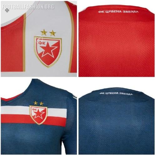 Фк Црвена звезда Crvena Zvezda 2018 2019 Macron Football Kit, FC Red Star Belgrade Soccer Jersey, Shirt, Dres