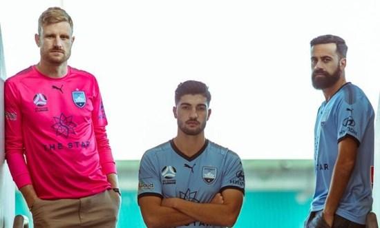 Sydney FC 2018 2019 PUMA Home, Away and Third Football Kit, Soccer Jersey, Shirt