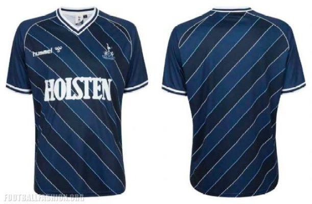 Tottenham Hotspur Reissue Late 1980s hummel Football Kit, Soccer Jersey, Shirt