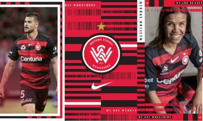 Western Sydney Wanderers 2018/19 Nike Home and Away Soccer Jersey, Football Kit, Shirt