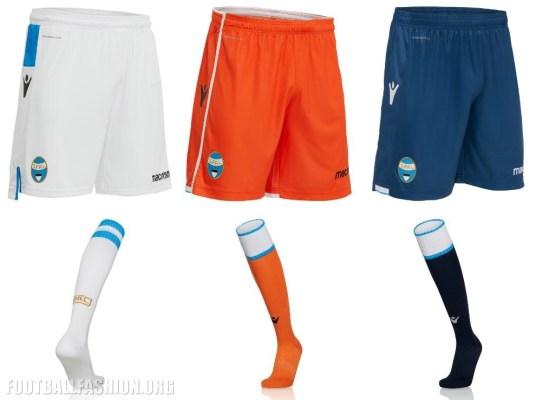 SPAL 2018 2019 Macron Home, Away and Third Football Kit, Soccer Jersey, Shirt, Maglia, Gara