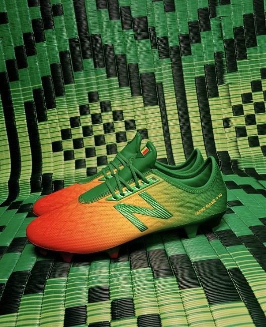 3d6ce928f7a6a Sadio Mané and New Balance Football Reveal Senegal Inspired Boots ...