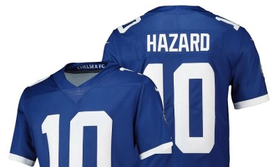 Chelsea FC 2018 2019 Nike NFL Football Jersey, Shirt, Kit