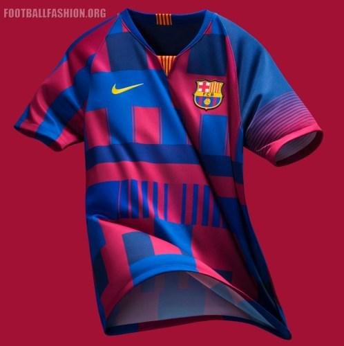 FC Barcelona x Nike 20th Anniversary Football Kit, Soccer Jersey, Shirt, Camiseta de Futbol, Equipacion