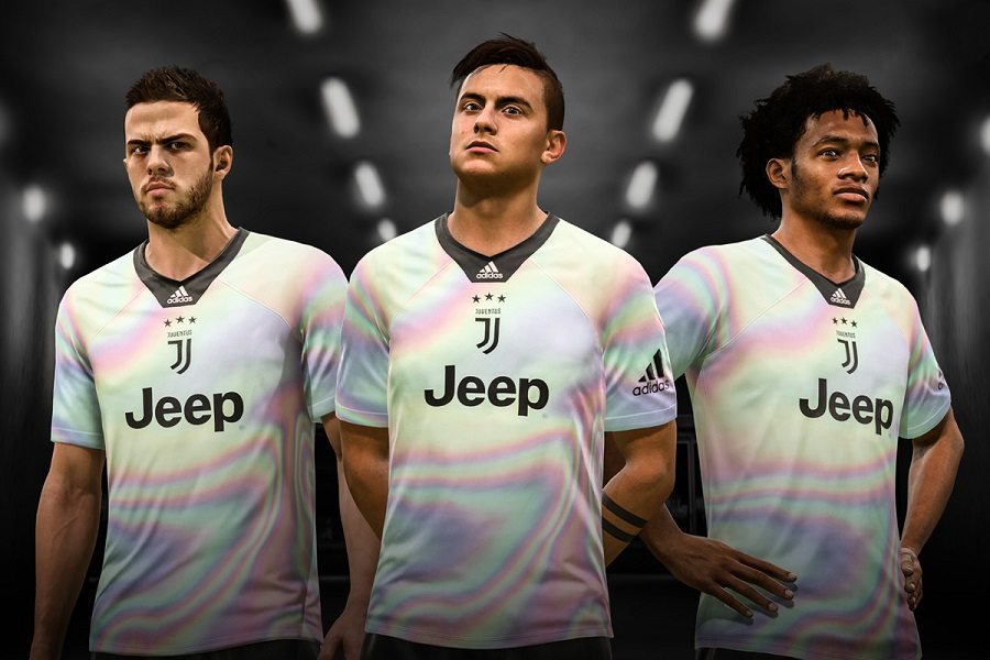 696bd62bf Juventus 2018 19 adidas Digital Fourth Kit - FOOTBALL FASHION.ORG
