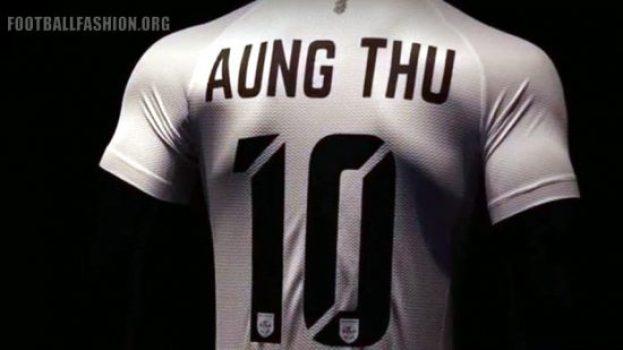 Myanmar 2018 2019 Warrix Home and Away Football Kit, Soccer Jersey, Shirt