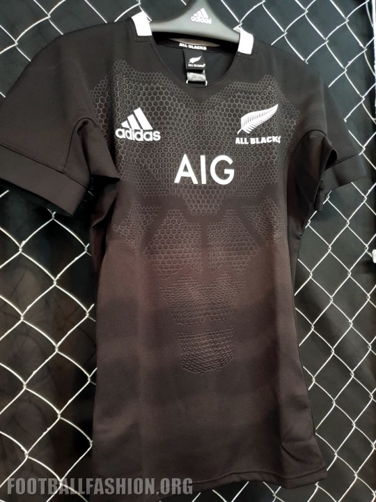 super popular e67a1 61a0c New Zealand All Blacks 2019 adidas Home and Away Rugby Jersey, Kit, Shirt