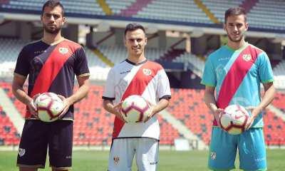 Rayo Vallecano 2018 2019 Kelme Football Kit, Soccer Jersey, Shirt, Camiseta de Futbol, Equipacion