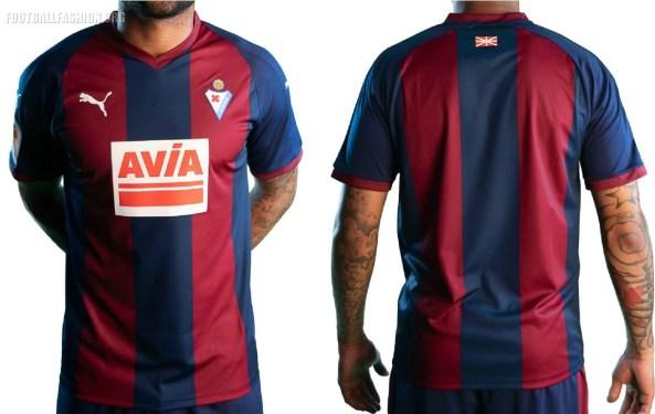 SD Eibar 2018 2019 PUMA Home, Away and Third Football Kit, Soccer Jersey, Shirt, Camiseta, Equipacion