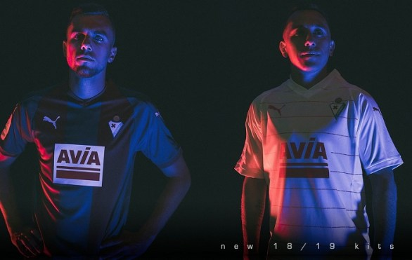 SD Eibar 2018 2019 PUMA Home, Away and Third Football Kit, Soccer Jersey, Shirt, Camiseta, Equipacion
