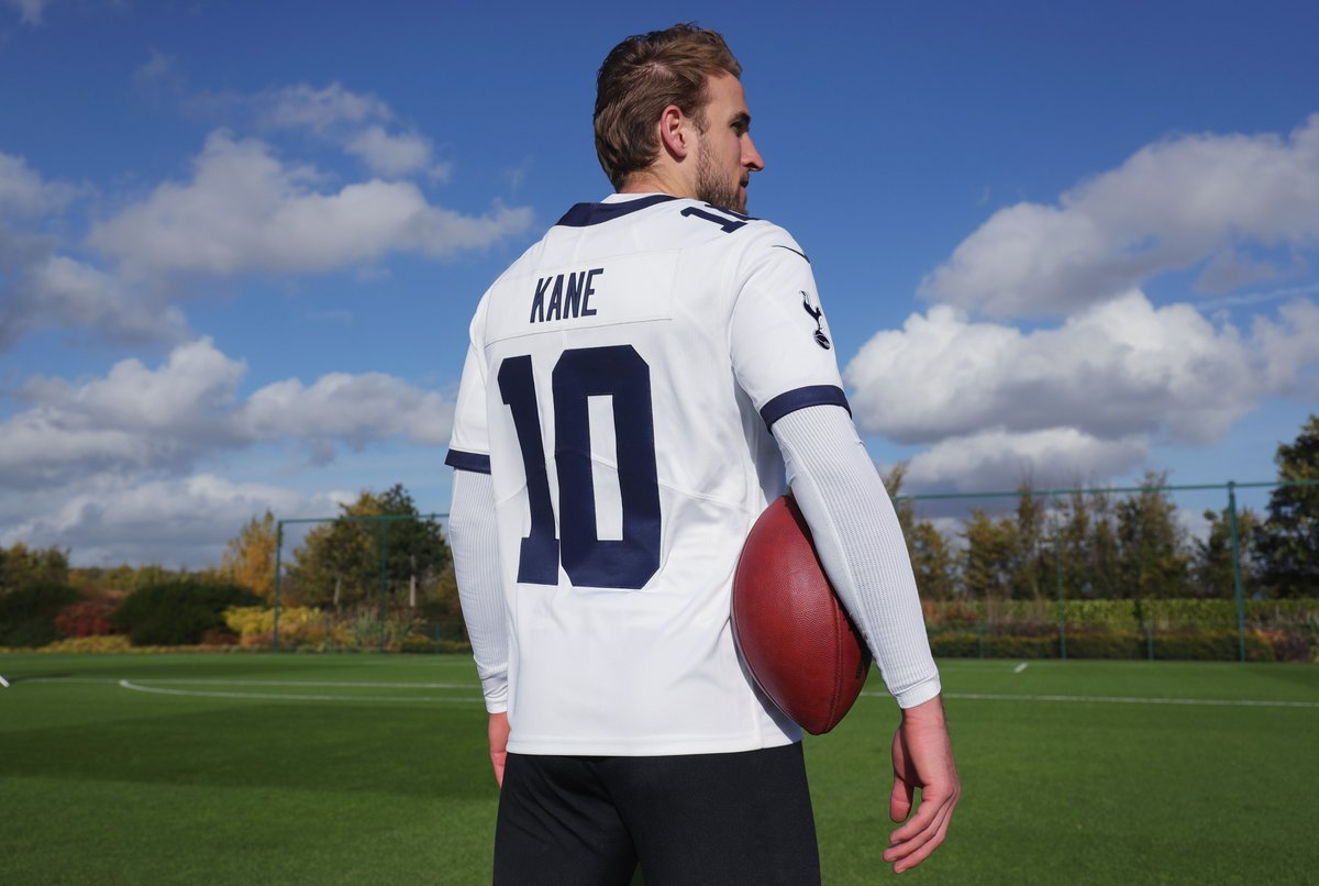 Tottenham Hotspur 2018/19 Nike NFL Jersey - FOOTBALL ...