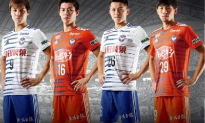 Albirex Niigata 2019 adidas Home and Away Football Kit, Soccer Jersey, Shirt