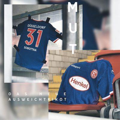 Fortuna Düsseldorf 2018/19 uhlsport Football Kit, Soccer Jersey, Shirt