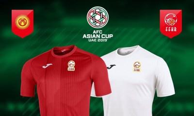 Kyrgyzstan 2019 Joma Home and Away Jerseys