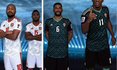 United Arab Emirates 2019 AFC Asian Cup adidas Football Kit, Soccer Jersey, Shirt