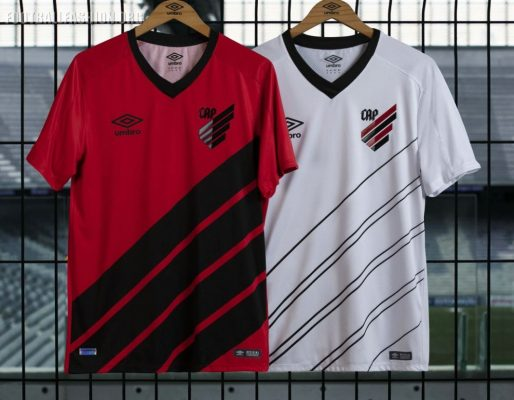 Athletico Paranaense 2019 Umbro Home and Away Football Kit, Shirt, Soccer Jersey, Camisa