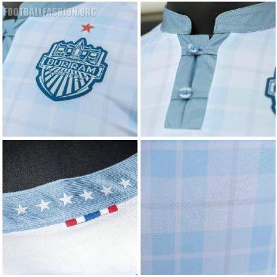 Buriram United FC 2019 Warrix Home and Away Football Kit, Soccer Jersey, Shirt