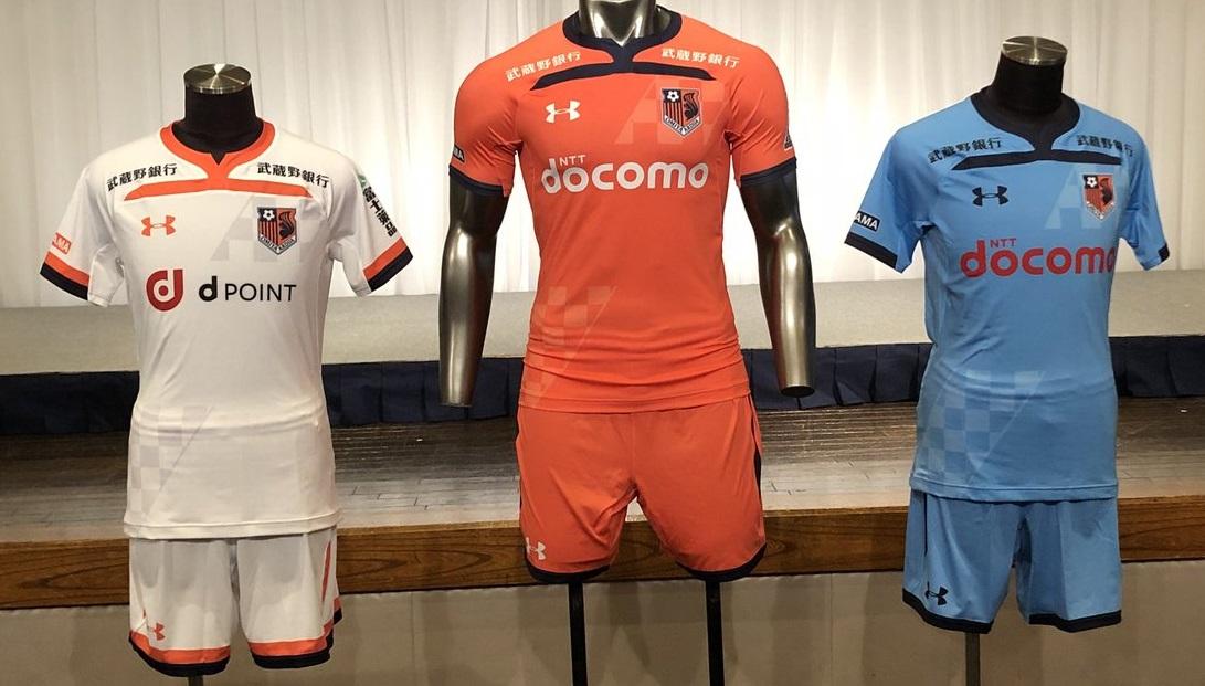 b683d9d3573 Omiya Ardija 2019 Under Armour Home and Away Kits - FOOTBALL FASHION.ORG
