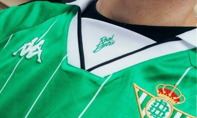 Real Betis 2018 2019 Kappa Retro Football Kit, Soccer Jersey, Shirt, Camiseta de Futbol, Equipacion