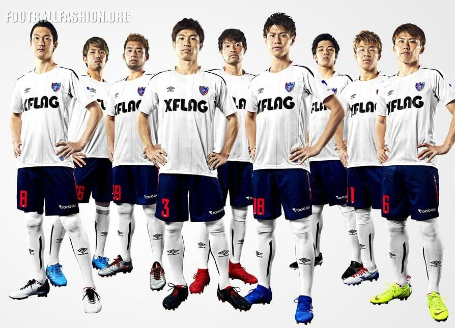 FC Tokyo 2019 Umbro Home and Away Kits - FOOTBALL FASHION ORG
