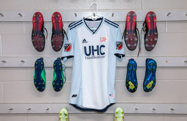 New England Revolution 2019 adidas Away Soccer Jersey, Football Kit, Shirt, Camiseta de Futbol