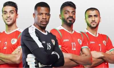 Oman 2019 Jako Home and Away Football Kit, Soccer Jersey, Shirt
