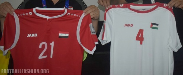 Syria 2019 Asian Cup Jako Home Football Kit, Soccer Shirt, Jersey