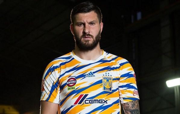 Tigres UANL 2019 adidas Third Soccer Jersey, Football Kit, Shirt, Camiseta de Futbol, Equipacion Tercera