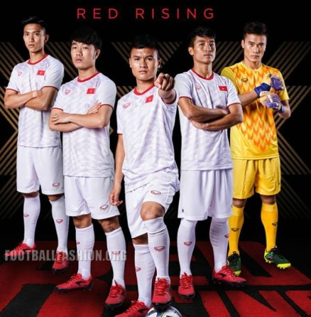 Vietnam 2019 Asian Cup Grand Sport Home and Away Football Kit, Soccer Jersey, Shirt