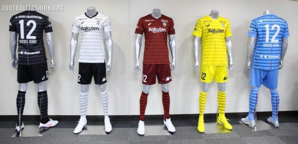 Vissel Kobe 2019 Asics Football Kit, Soccer Jersey, Shirt