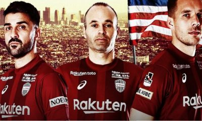 Vissel Kobe 2019 Asics Football Kit, Soccer Jersey, Shirt