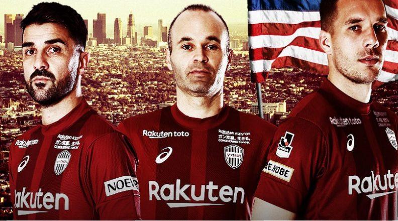 42647499b74 Vissel Kobe 2019 Asics Football Kit, Soccer Jersey, Shirt