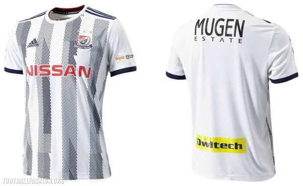 Yokohama F. Marinos 2019 adidas Home and Away Football Kit, Soccer Jersey, Shirt