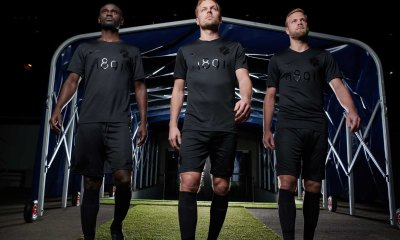 AIK 1891 Black Edition Nike Football Kit, Soccer Jersey, Shirt