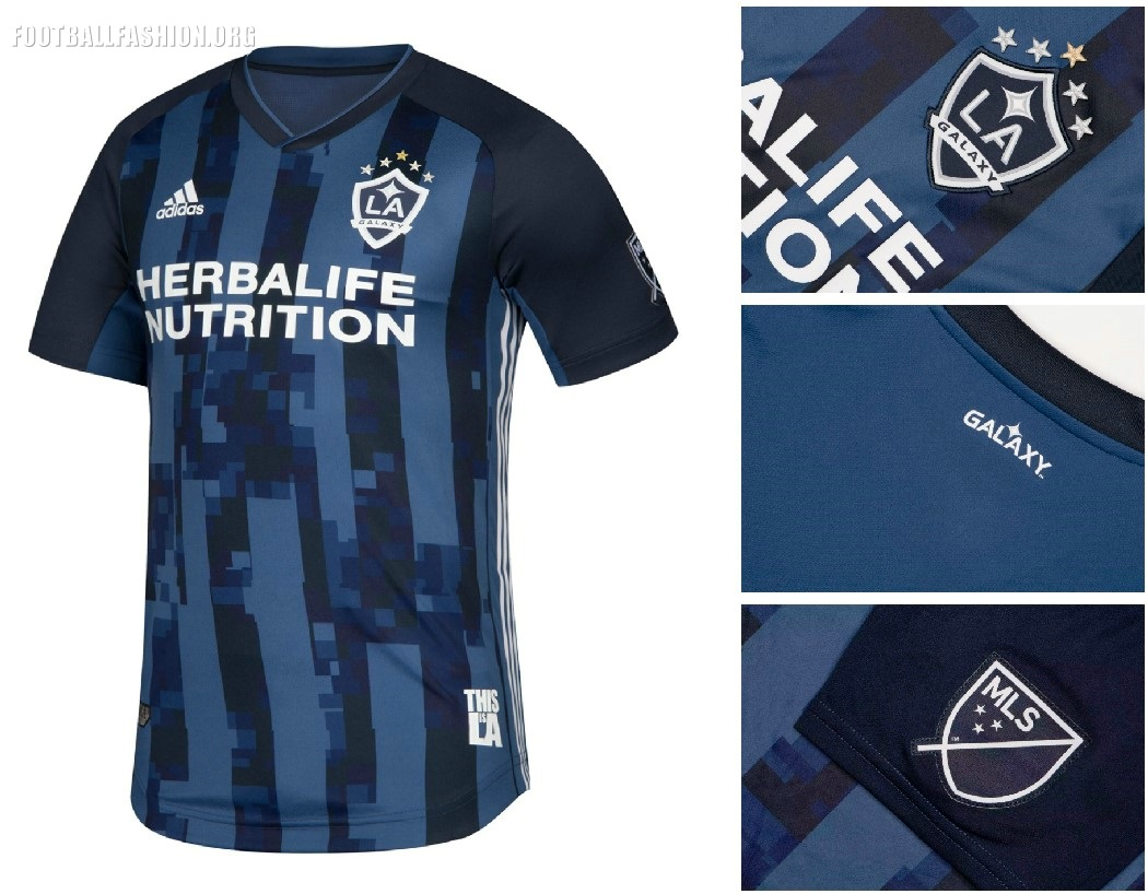 8a6ce89eee0 LA Galaxy 2019 adidas Away Jersey - FOOTBALL FASHION.ORG
